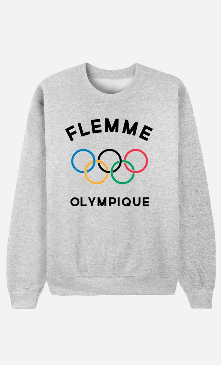 Sweat Femme Flemme Olympique - Wooop.fr