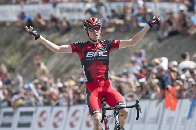 Tejay van Garderen wins stage, takes lead in 2012 USA Pro Challenge - Tejay van Garderen takes stage 2 and the overall lead in the USA Pro Challenge. Photo: Casey B. Gibson | www.cbgphoto.com