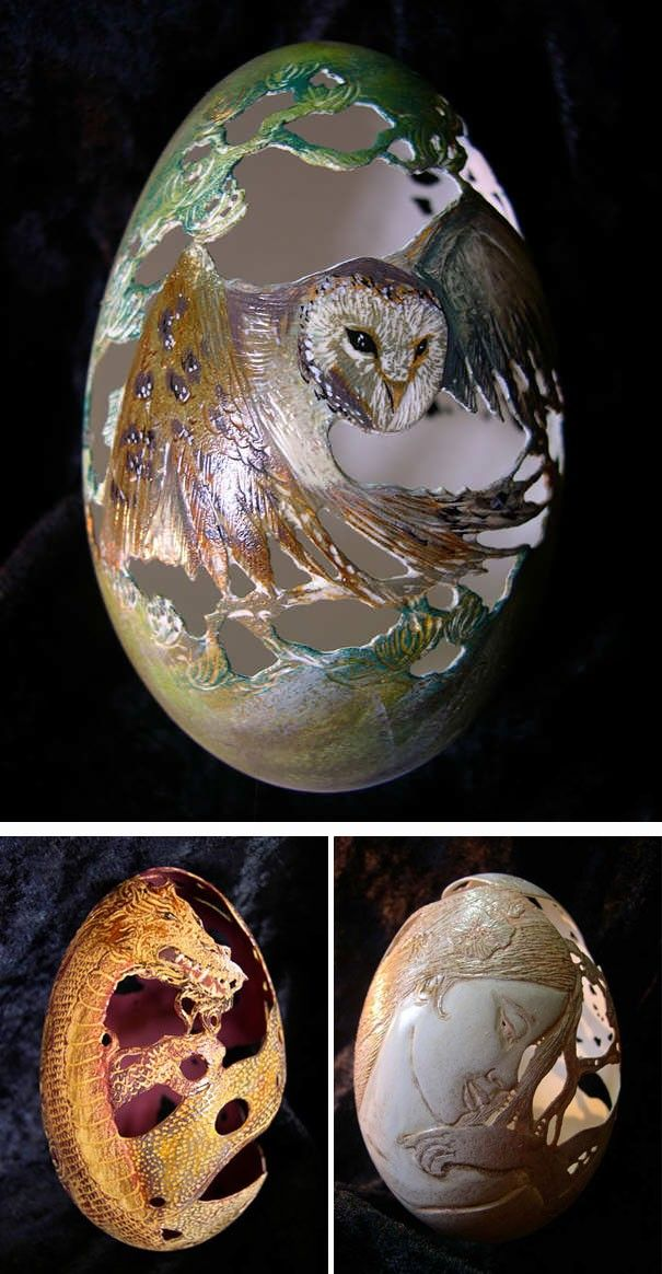 Yumurtayı Dekorasyon Nesnesi Haline Getirecek 20 Fikir : NeoTempo