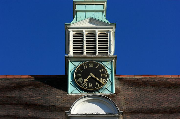 A clock on the Department of Archaeology buildings | Cambridge University