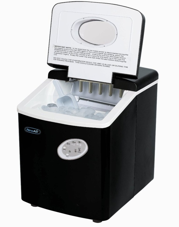 Oster Countertop Ice Maker : NewAir AI-100BK Portable Ice Maker is a good portable ice maker with ...