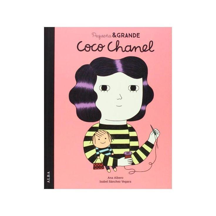 Pequeña y grande Coco Chanel es el primer título de una colección de cuentos con la que niñas y no tan niñas descubrirán quiénes eran y qué lograron.