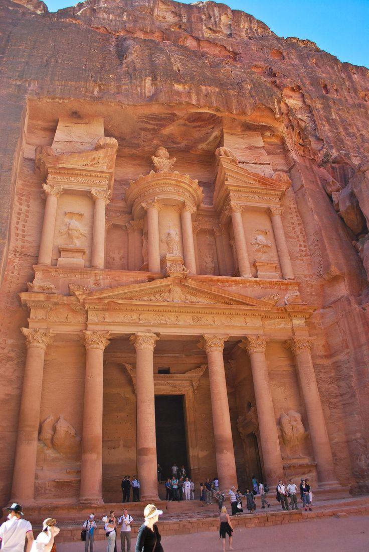 The Treasury, Petra, Jordan - UNESCO World Heritage Site