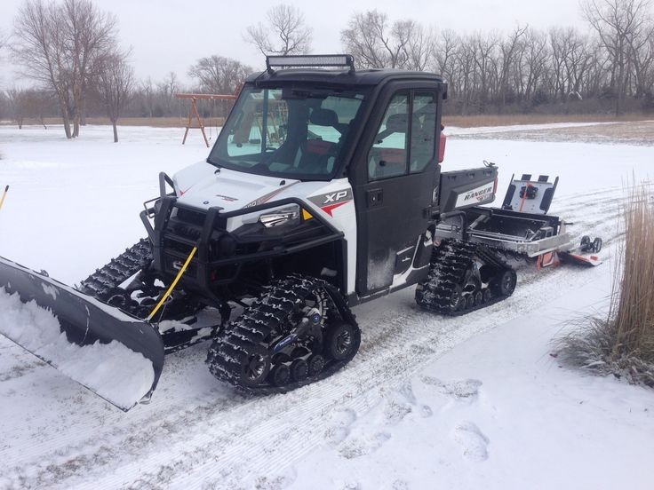 Polaris Ranger Xp 900 on tracks