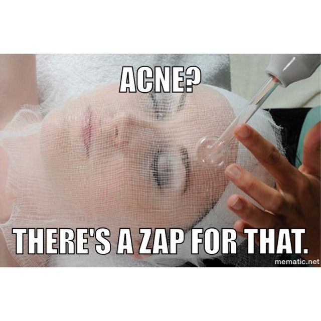 Acne? There's a zap for that.