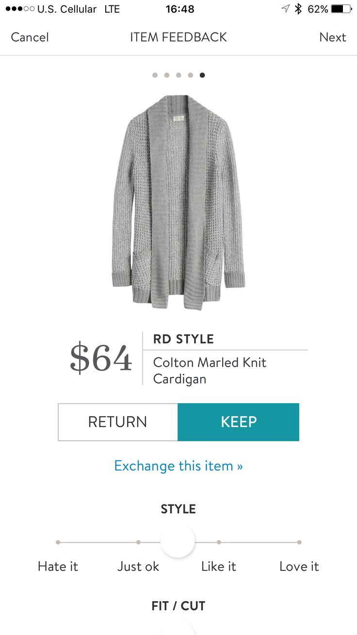 RD Style Colton marled knit cardigan