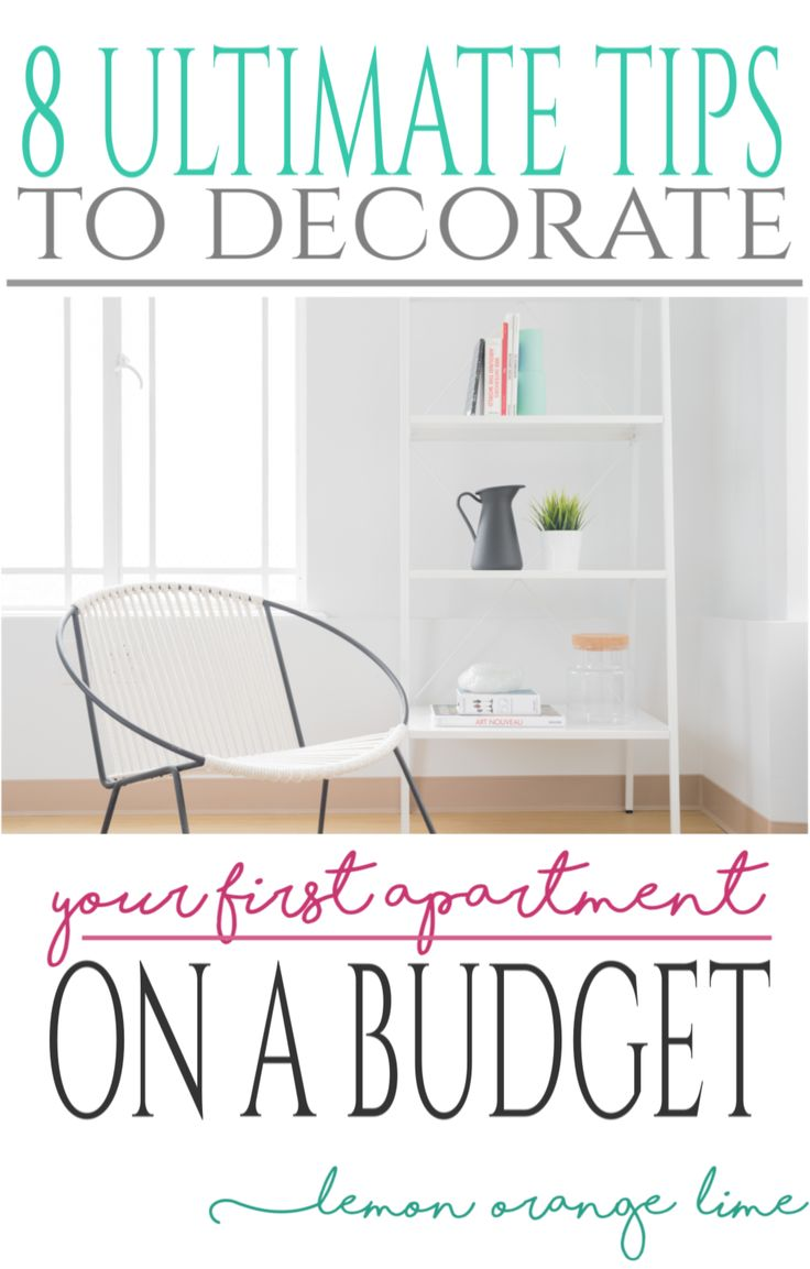 Receiving the keys to a new apartment and... having no money to decorate it? Follow those 8 ultimate tips to decorate your first apartment on a budget! Read more on lemonorangelime.com
