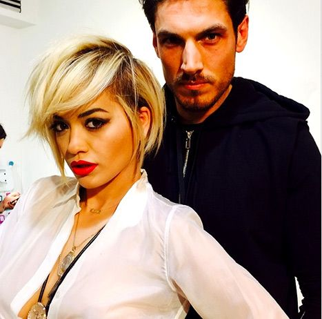 Rita Ora shared this instagram of her new hair