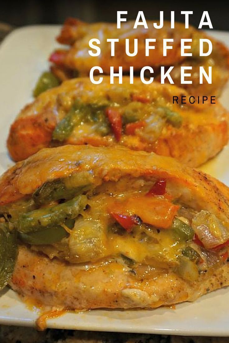 Easy Keto Fajita Stuffed Chicken Recipe Soooo Good Healthy And Only 230 Calories 21 Day Fix