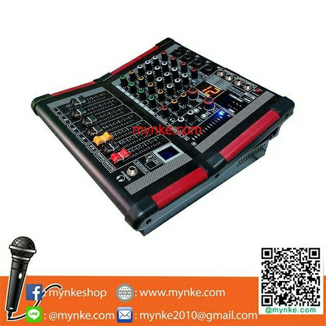 ขาย เพาเวอร์มิกเซอร์ 4 ช่องฺBluetooth USB MP3 16DSP เอฟเฟ็ค 250+250วัตต์ ในราคา ฿5,999 ซื้อได้ที่ Shopee ตอนนี้เลย!https://shopee.co.th/mynke.com/228642282/  #ShopeeTH