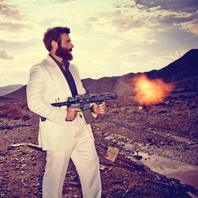 """""""Maybe a rented white suit will make me more classy"""" - Dan Bilzerian the world's true most interesting man in the world"""