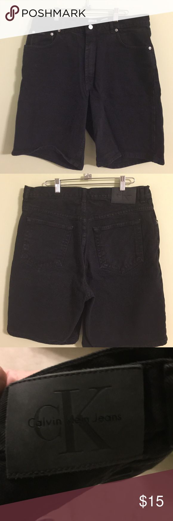 Calvin Klein Jean Shorts Men's 34 Calvin Klein Jean Shorts Men's 34 Calvin Klein Shorts Jean Shorts