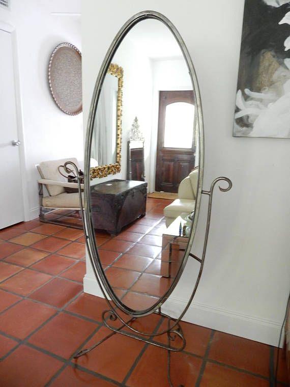 Cheval Mirror Swivel Standing, Free Standing Swivel Mirror