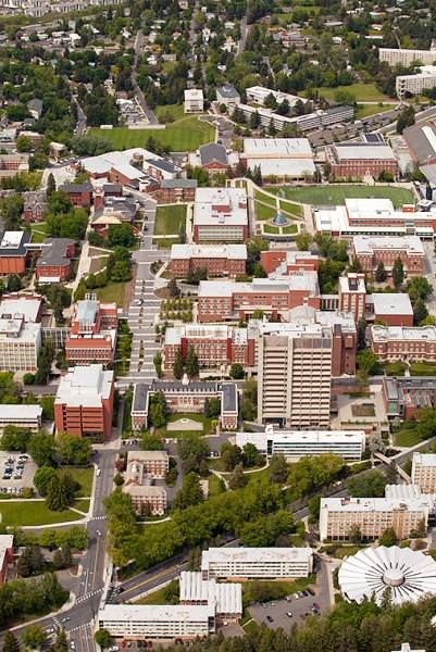 Take a virtual tour of Washington State University Pullman #GoCougs #WSU