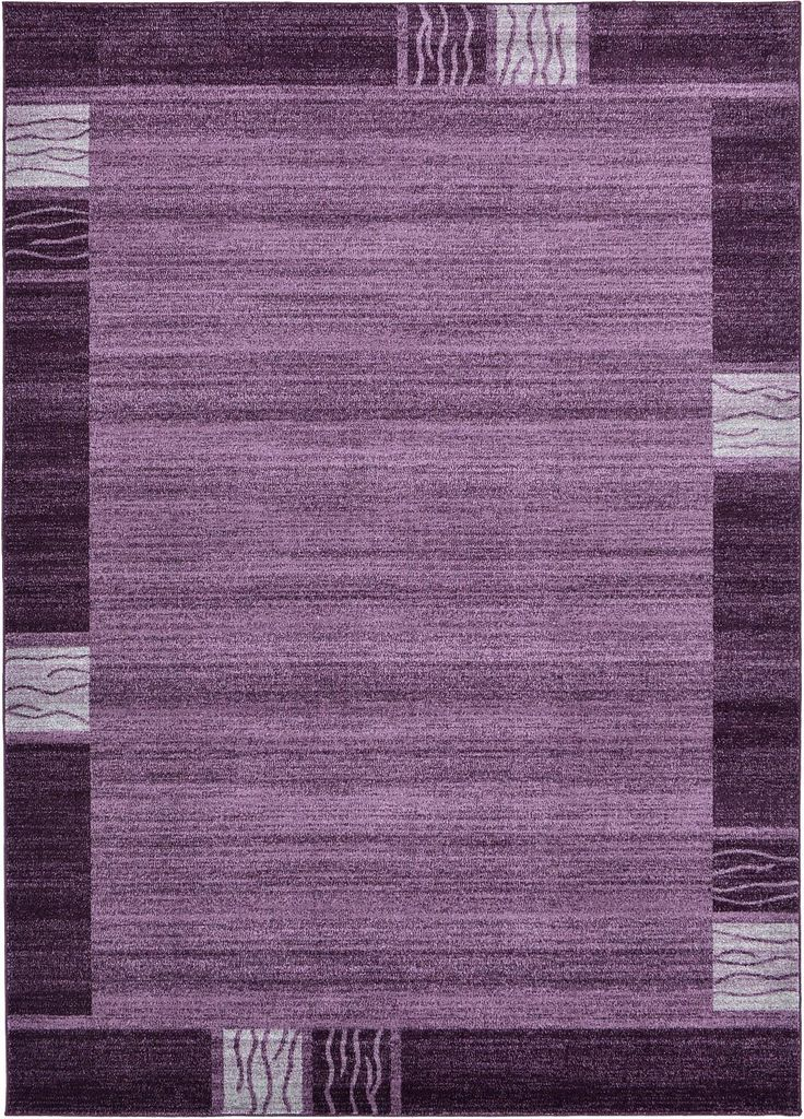 purple 0 x 0 modern tricolor rug