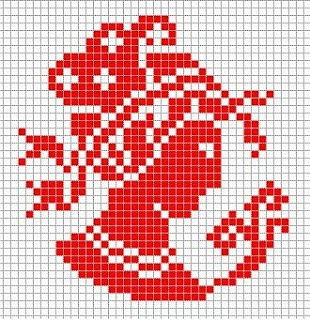 cameo cross stitch freebie