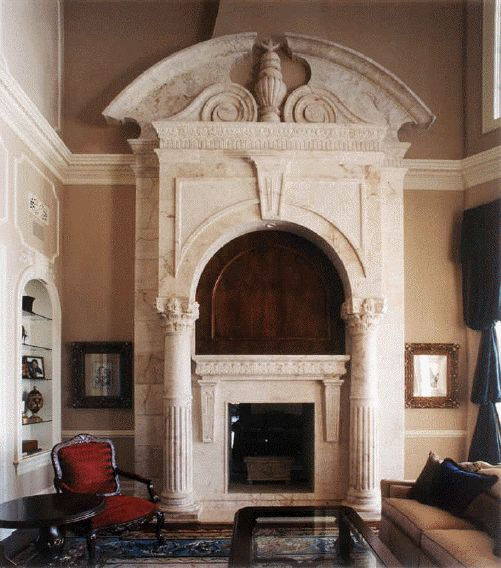 Grand Villa By Wood Mode: 1000+ Images About High End Architectural Stone Fireplace