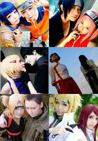 cosplay naruto hinata sasuke sakura sia ino tenten
