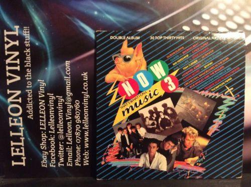 NOW3 Compilation Double LP Album Vinyl Record NOW3 Pop Rock Soul 80's Music:Records:Albums/ LPs:Pop:1980s