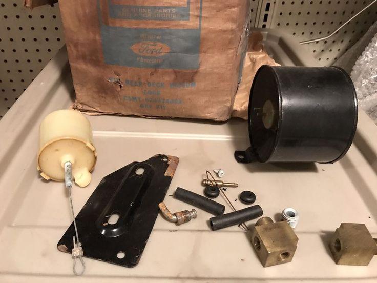 vacuum trunk opener NOS Ford  Parts FOMOCO Mercury Trunk Release    eBay