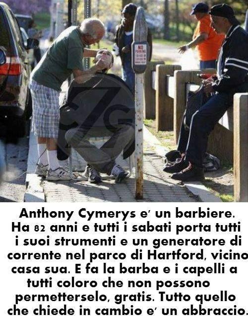 ANTHONY CYMERYS È UN UOMO DI 82 ANNI DAL CUORE GRANDE. LEGGI... http://www.ilpeggiodellarete.it/anthony-cymerys-e-un-uomo-di-82-anni-dal-cuore-grande/
