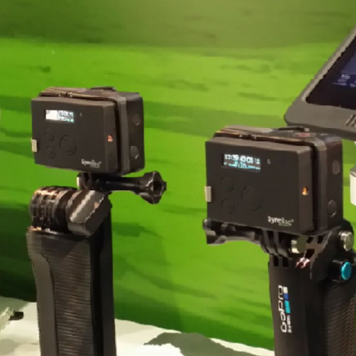 Timecode for GoPro from Timecode Buddy - Ever wished the GoPro could sync with timecode? Timecode  Buddy has the Synback.