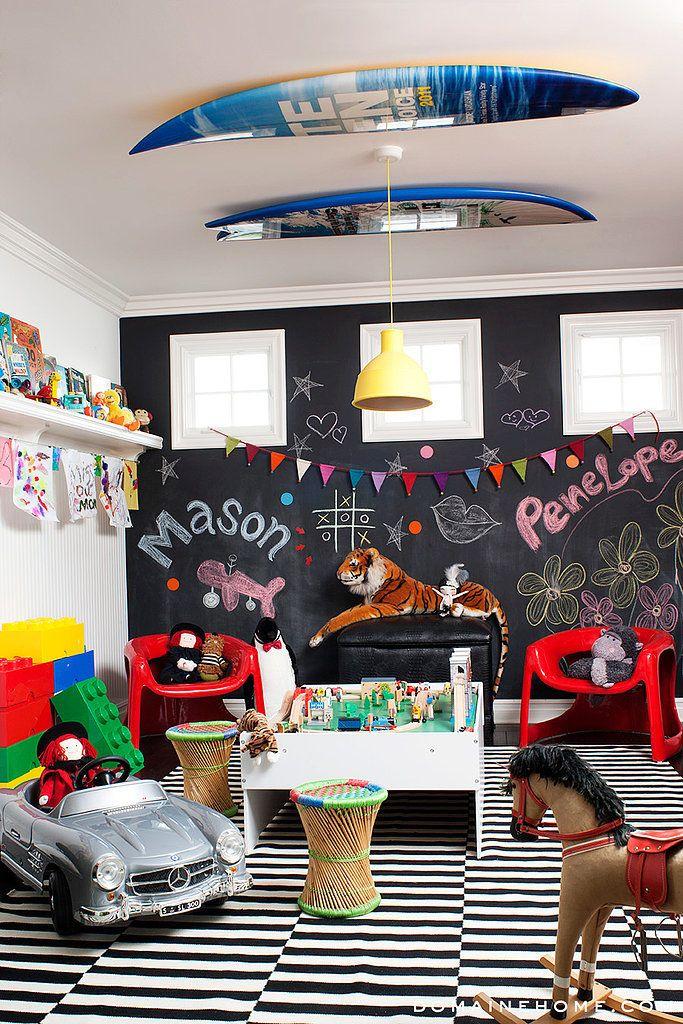 Mason and Penelope Disick's Adorable Playroom! Love Kourtney Kardashian's kid style