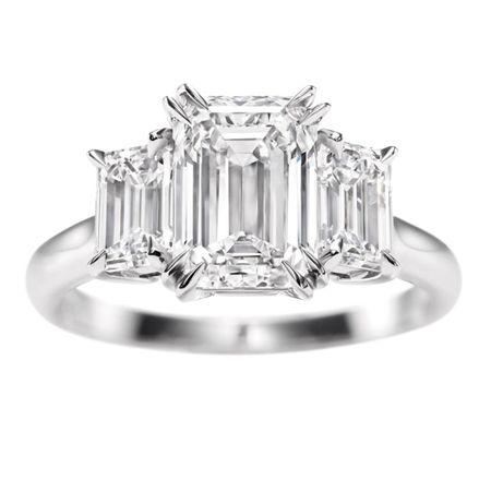 : Emeraldcut, Diamond Rings, Harry Winston, Emerald Cut, Diamonds Rings, Emeralds Cut Three, Dreams Rings, Engagement Rings, Three Stones