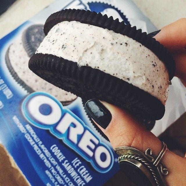 ♡ Follow amazinggrace31 | Oreo ice cream