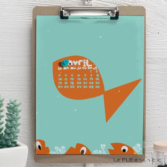 17 meilleures id es propos de calendrier 2017 sur for Calendrier digital mural