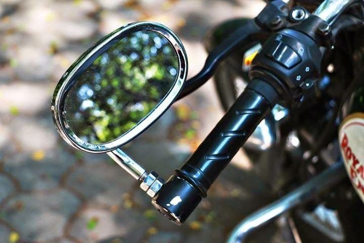 Motorcycle Bar End Mirror Royal Enfield Bar End Mirrors