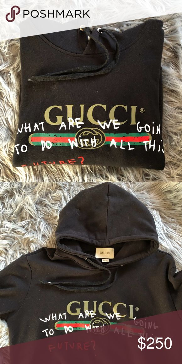 Gucci Coco Capitán Black Future Hoodie Size: Medium Condition: 9/10.   * Ships within 24 hours or less EXCLUDING weekends. Submitted offers will be responded ONLY!   Prada Louis Vuitton Chanel Goyard LV Luluemon Burberry Hermes Berkin Nike Purse Adidas Yeezy Supreme Bape Box Logo Jacket Zara HM Luxury YSL Saint Laurent Versace Balmain Amiri Gucci Monogram Demin All Off White Givenchy Vintage Fur Gucci Shirts