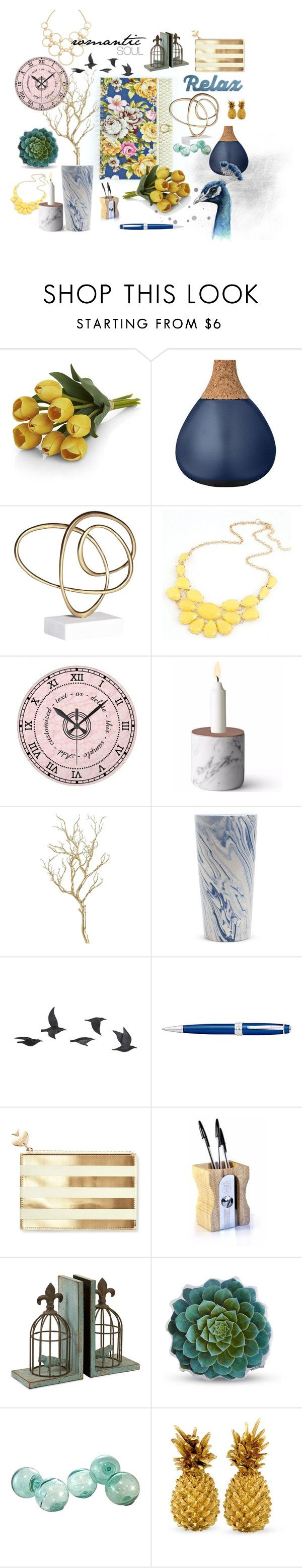 """Romantic soul"" by iwona-estera on Polyvore featuring interior, interiors, interior design, home, home decor, interior decorating, Crate and Barrel, Bloomingville, BEA and Pier 1 Imports"