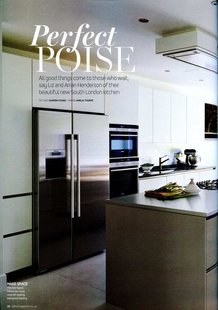 Web Image Gallery A feature on a sleek and beautiful kitchen from Laurence Pidgeon http
