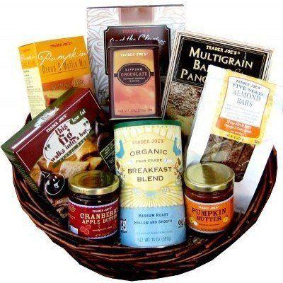 Trader Joe's 'Top of the Morning' Breakfast Gift Basket - http://mygourmetgifts.com/trader-joes-top-of-the-morning-breakfast-gift-basket/