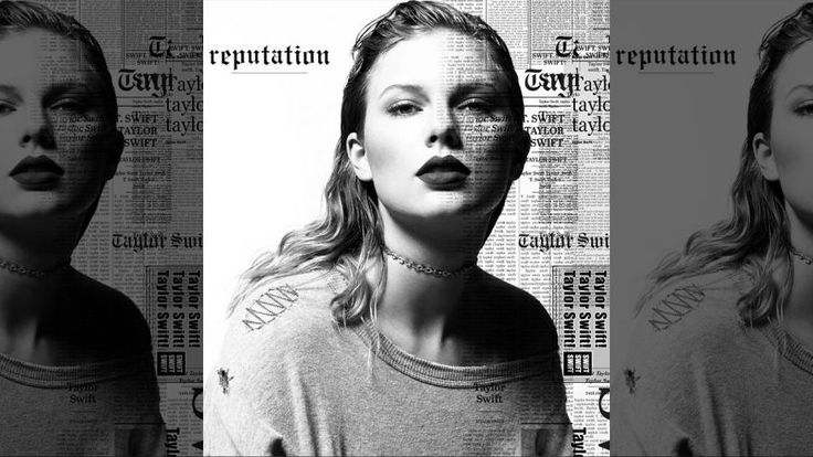 Taylor Swift's 'Reputation' album cover ripped by fans - Agu 2017 - #TaylorSwift #GraphicDesign  #AlbumCoverDesign