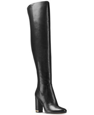 MICHAEL Michael Kors Sabrina Over the Knee Boots | macys.com