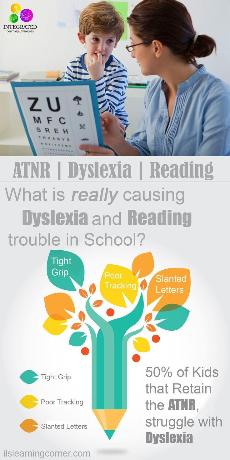 ATNR: Studies Show 50% of Kids with a Retained ATNR Primitive Reflex Struggle with Dyslexia | ilslearningcorner.com