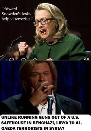 Ron White - Hillary Skeptic: Funny, but it's more than likely the truth. We've said it from the beginning.