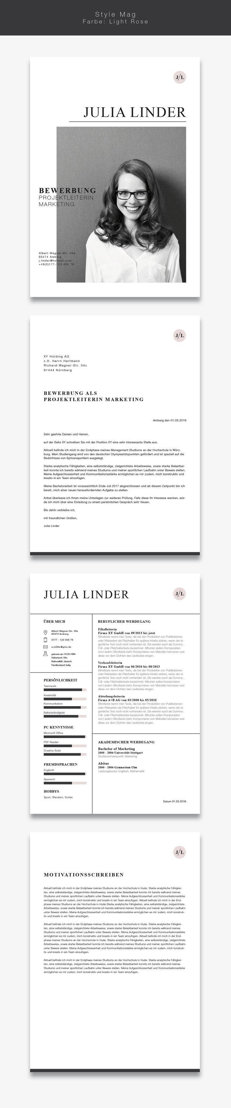 17 best Schriftliches images on Pinterest | Resume design, Resume ...