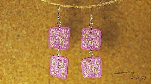 polymer clay earrings by kittyD - SAShE.sk - Handmade