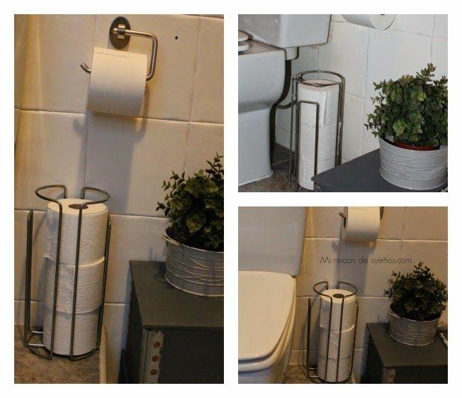 MI RINCÓN DE SUEÑOS: Donde poner el papel higienico en el baño