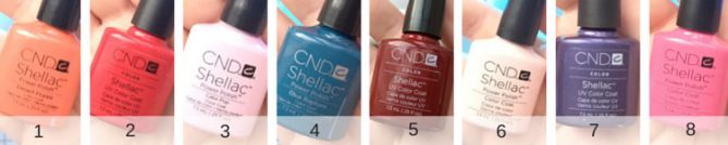 Ready to leave the nail salon behind? Here's my Shellac nail color pallet. http://www.sipbitego.com/shellac-nail-polish-color-pallet/