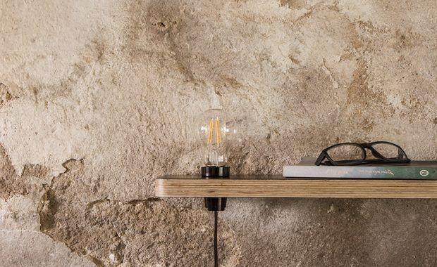 Półka i lampka 2 w 1