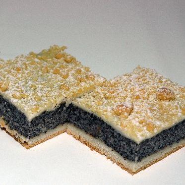 Mohnstreusel-Kuchen Rezept poppy seed filling