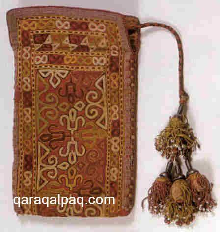 Turkmen tea bag