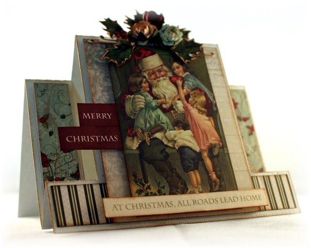 #Kaisercraft - St Nicolas Paper Collection - #christmas #Cards