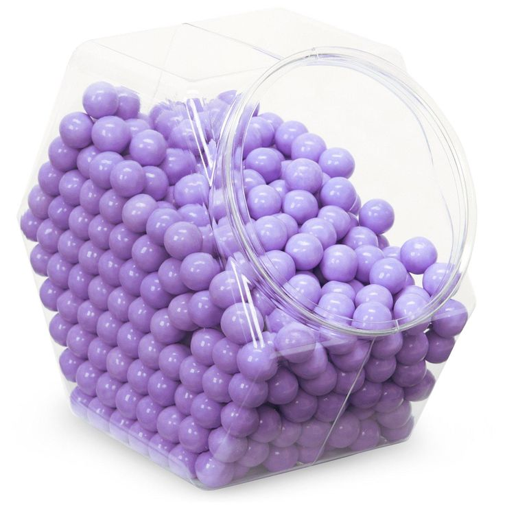 Lavender Sixlets Candy from BirthdayExpress.com