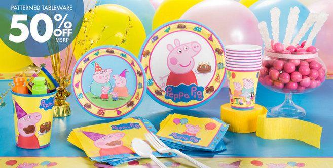 Peppa Pig Party Supplies - Peppa Pig Birthday -