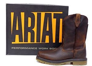 Ariat Work Boots Reviews - The Good The Best and The Comfortable - http://workbootsreview.com/best-ariat-safety-shoes/